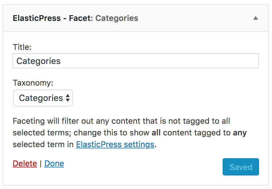 Blog - ElasticPress